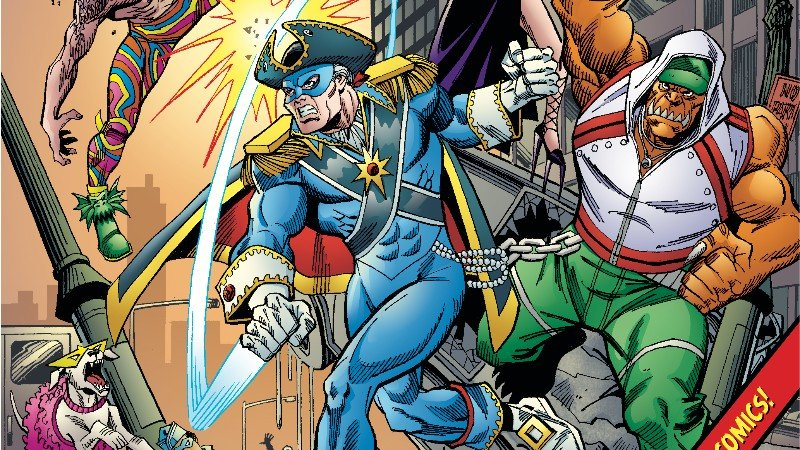 """THE LEGACY OF THE HEROES UNION CONTINUES WHEN DIAMOND COMICS DISTRIBUTES THE BLUE BARON """"EVERYTHING OLD IS NEW AGAIN!"""" #1"""