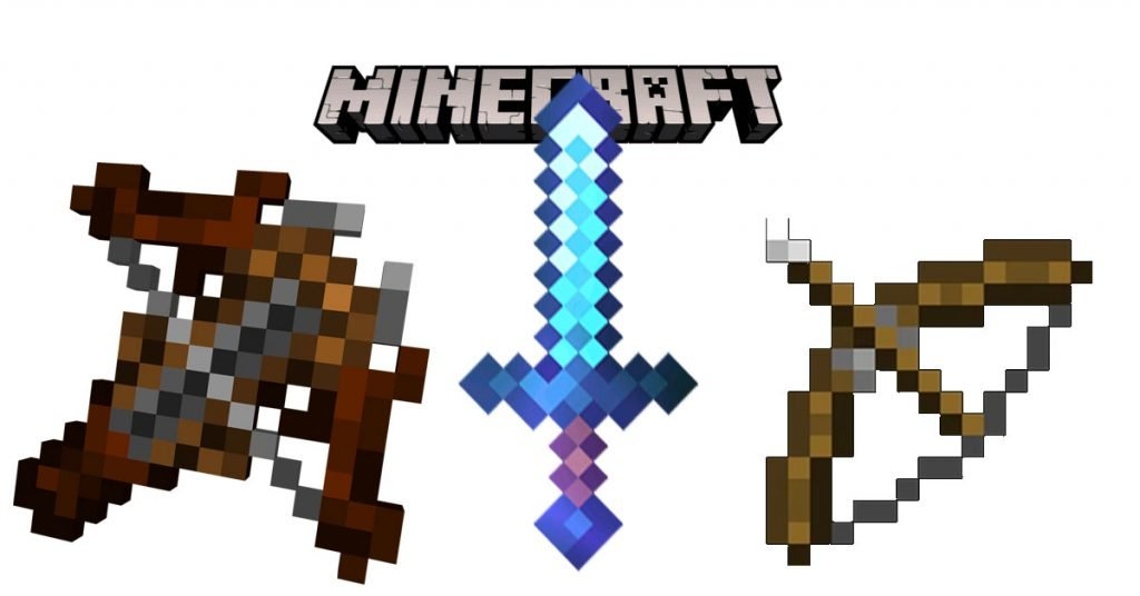 30 Best Minecraft Weapons And How To Find Them (2021 Update)