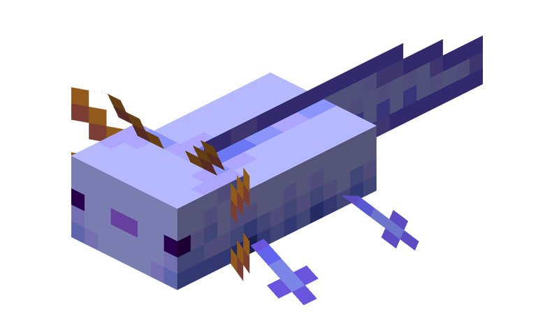 5 Rarest Axolotl Minecraft And How To Get Them
