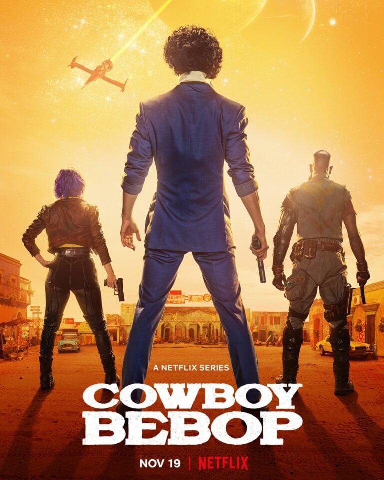 Cowboy Bebop Netflix Poster