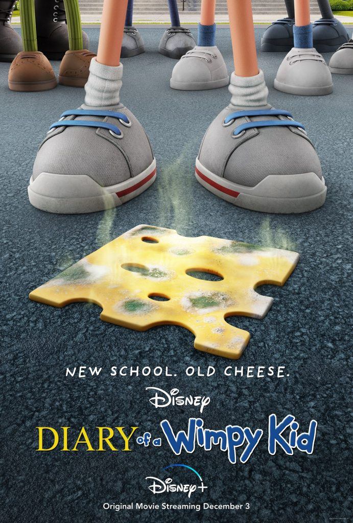 """DISNEY+ ANIMATED FILM """"DIARY OF A WIMPY KID"""" TO STREAM DECEMBER 3, 2021"""