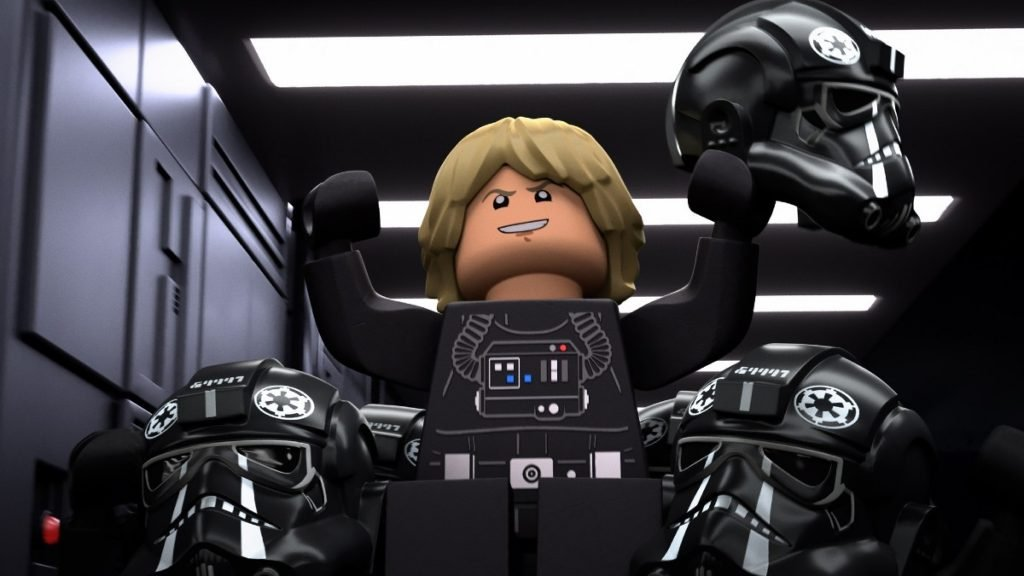 "DISNEY+ DEBUTS HAIR-RAISING TRAILER FOR ""LEGO® STAR WARS TERRIFYING TALES"""