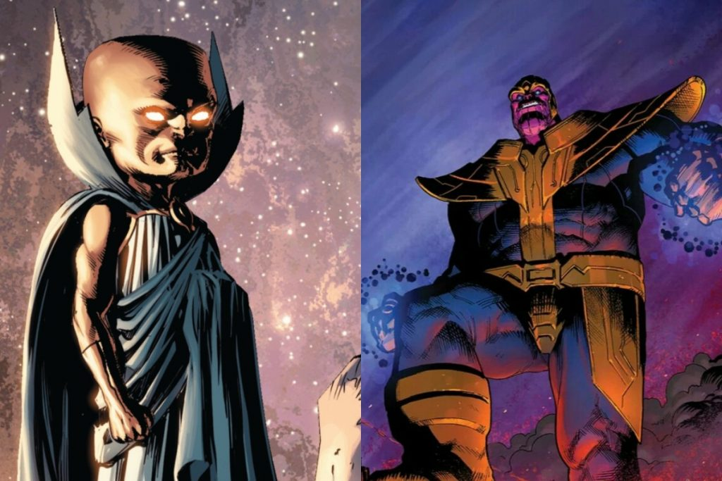 The Watcher vs Thanos: Who Would Win?