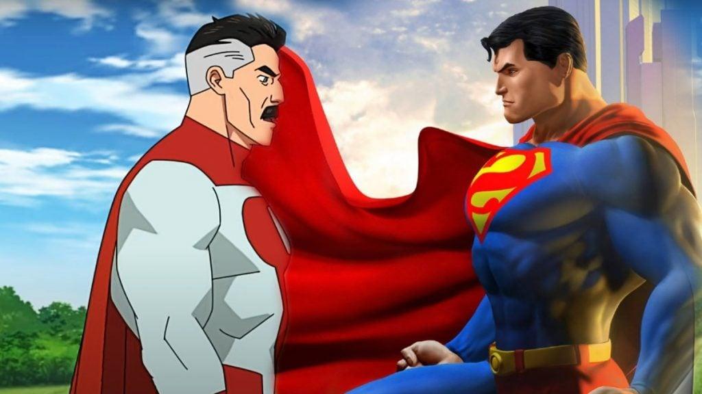 omni-man vs superman