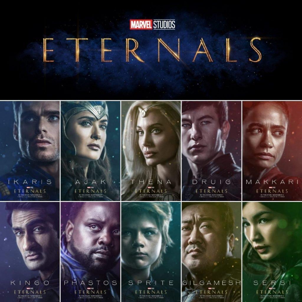 Eternals Character Poster
