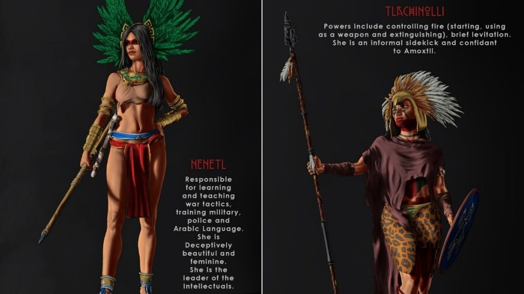 Aztec Warrior God