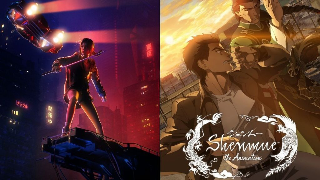 Blade Runner Black Lotus' and 'Shenmue the Animation'