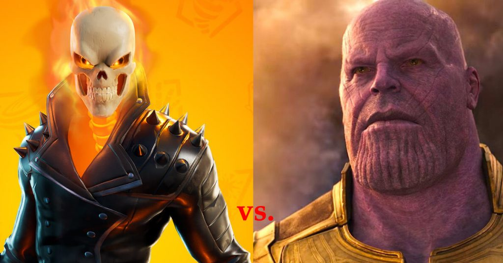 Ghost Rider vs Thanos: Who Would Win?