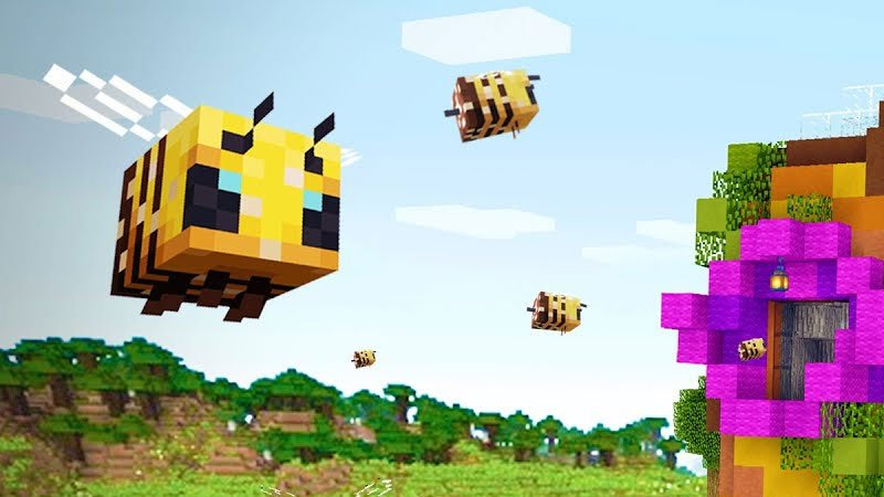 How To Make A Beehive And How To Get Bees In A Beehive In Minecraft?