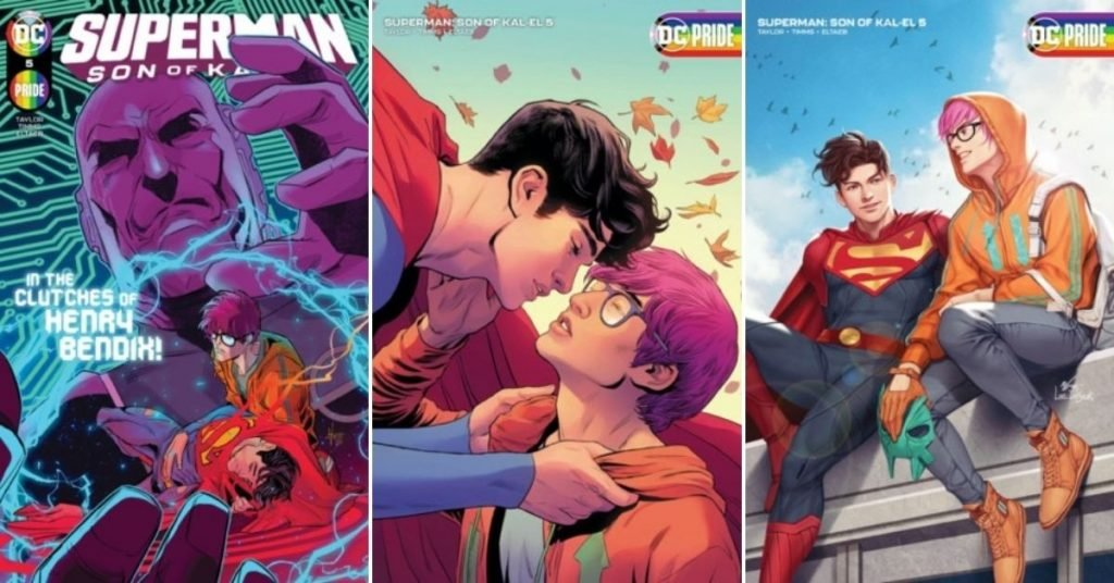 Jon Kent Comes Out as Bisexual in Superman Son of Kal-El #5