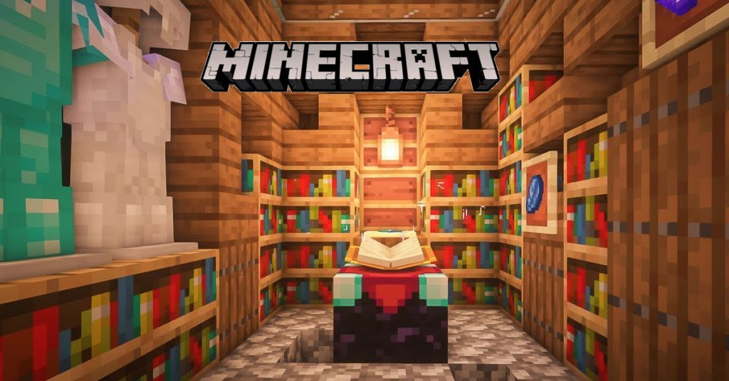 The Best Enchanting Room In Minecraft And How To Build It