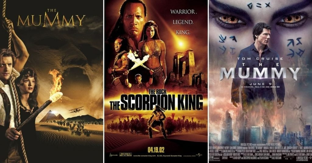 The Mummy Movies in Order