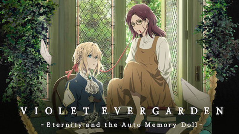 Violet Evergarden Watch Order (Series and Movies)