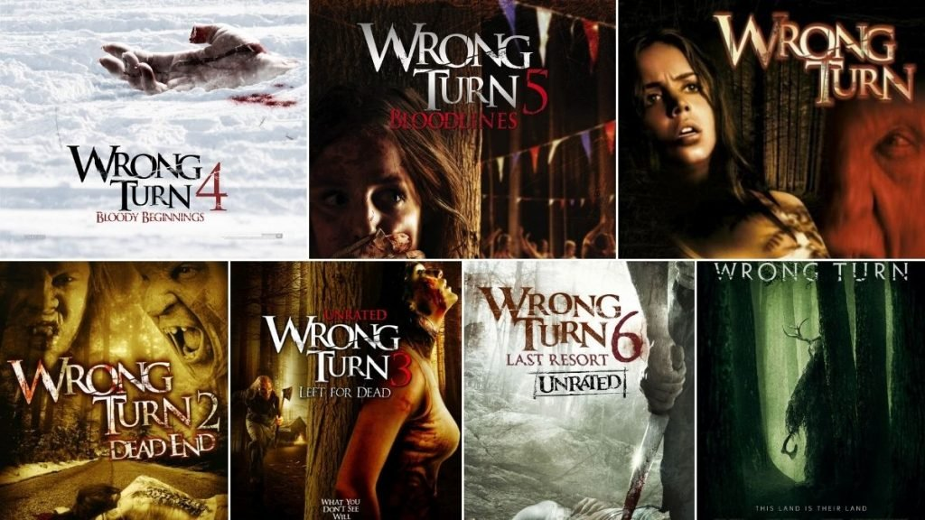 Wrong Turn Movies in Order