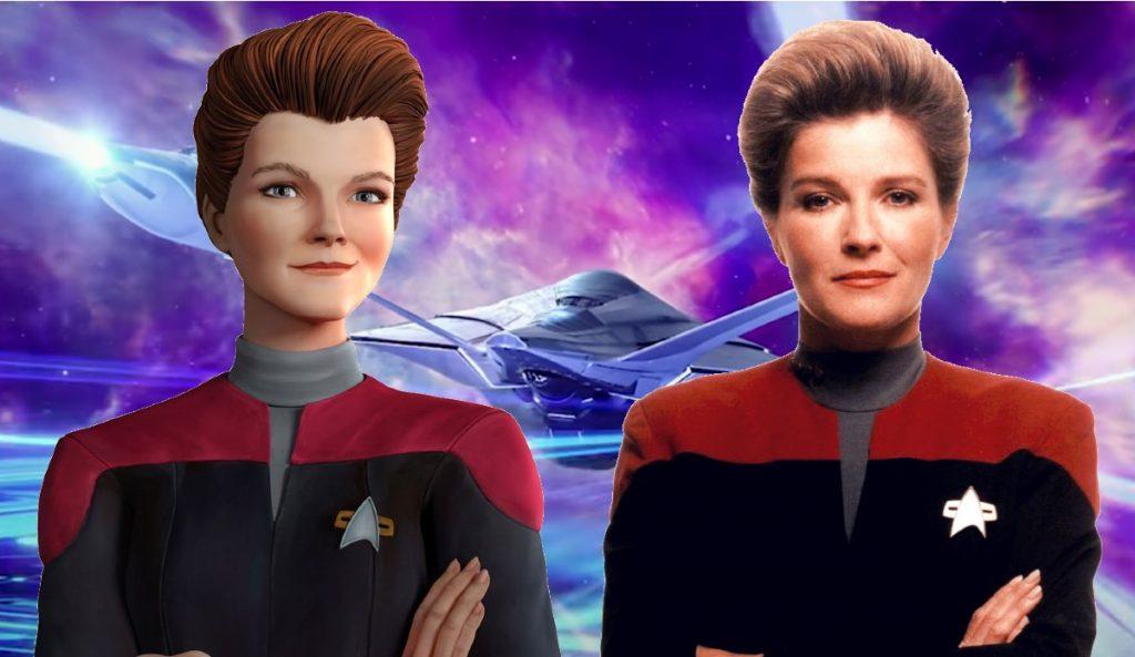 Star Trek: Prodigy, Meet the Kathryn Janeway Hologram!