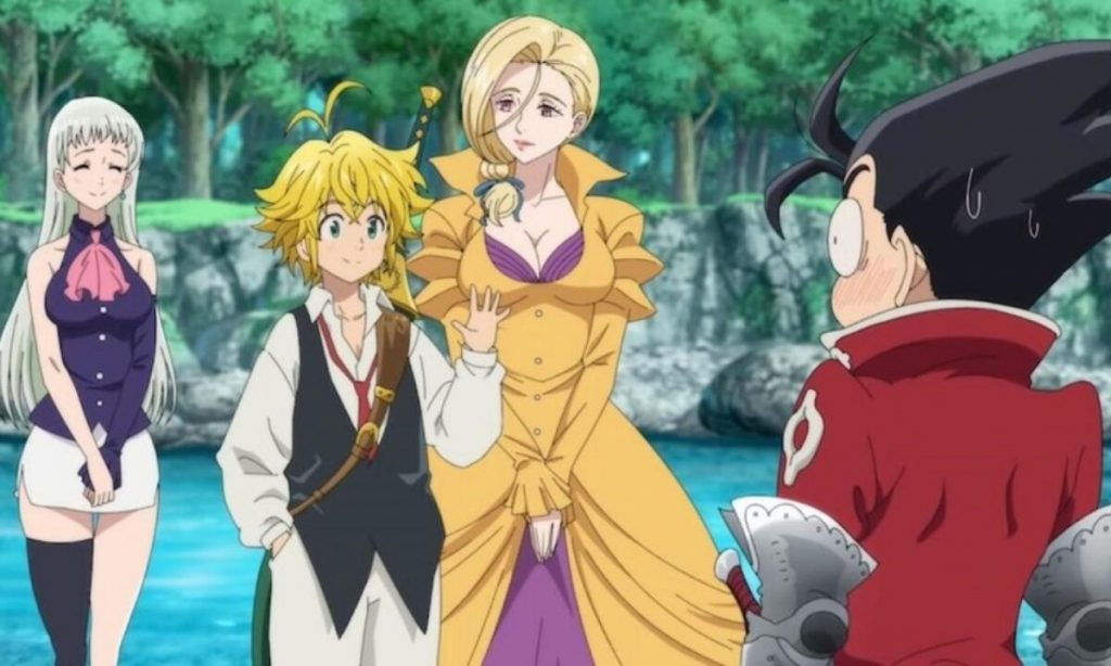 The Seven Deadly Sins: Cursed By The Light review