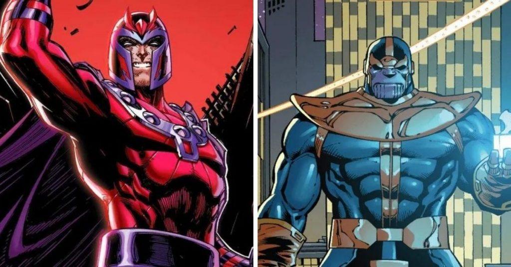 magneto vs thanos